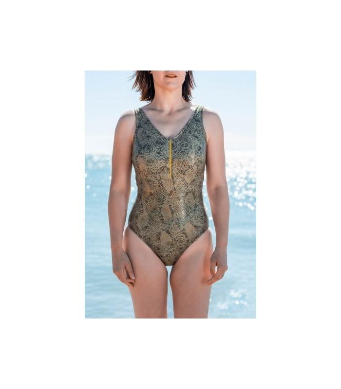 Bañador mastectomía TAIPÁN en V