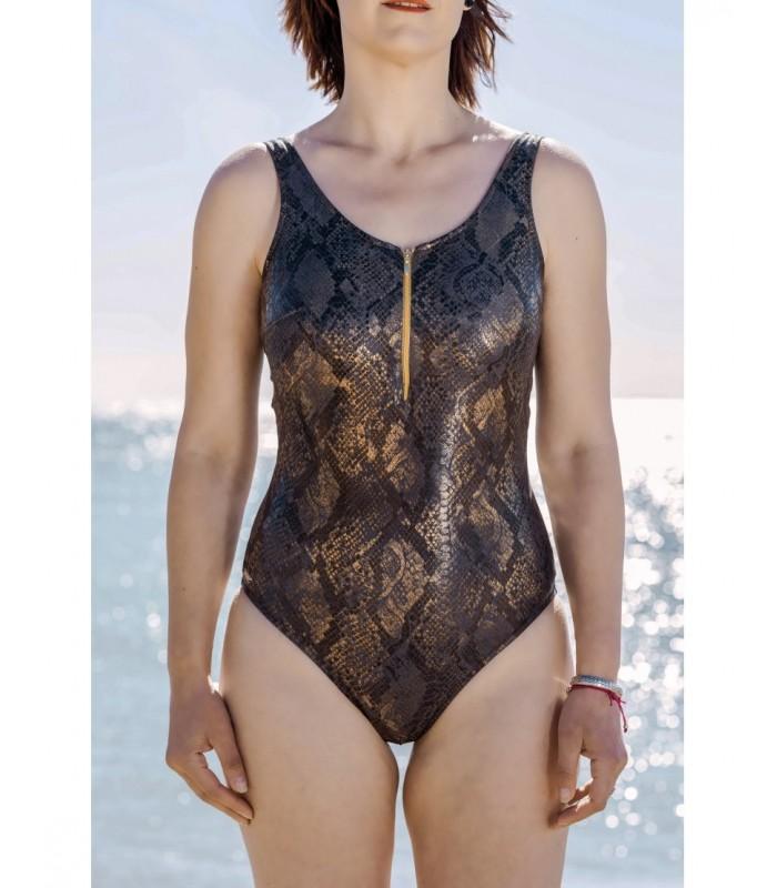 Bañador mastectomía COBRA redondo