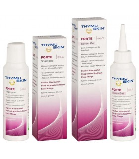 Pack Serum y Champú Anti Alopecia THYMUSKIN® FORTE