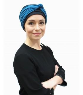 Gorro oncológico Kimmy Infinity Suburban Turban negro