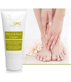 Crema de manos y pies hidratación intensiva para quimioterapia