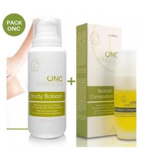 Pack cuidado pre-quimio y radio ONC Dermology