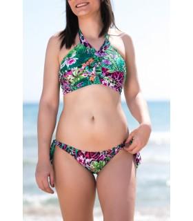 Bikini Amazonas en V mastectomía