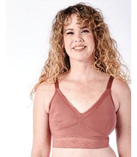 Sujetador DELILAH mastectomía y reconstrucción dusty rose