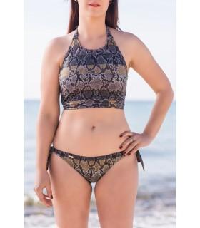 Bikini SERPIENTE modelo Top