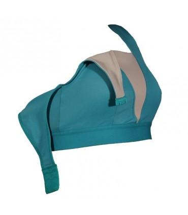 Suejtador mastectomía y recostrucción Juana apertura tirantes lateral