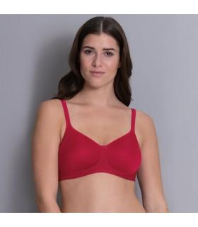 Sujetador TONYA cherry relleno suave mastecomia