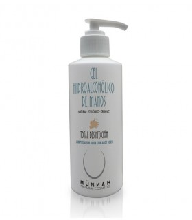 Gel hidroalcohólico natural de manos 200 ml