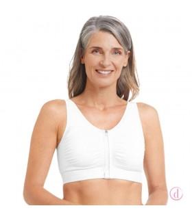 Sujetador EMILIA post mastectomía algodón blanco