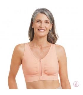 Sujetador EMILIA post mastectomía algodón rosa nude