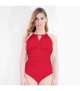 Bañador mastectomía DIVE coral
