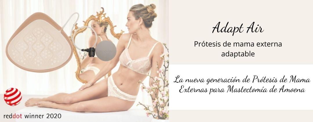 Adapt Air, la prótesis externa adaptable de silicona para mastectomía