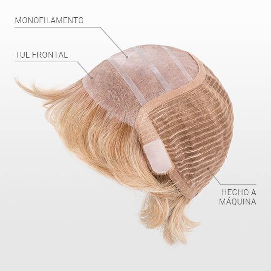 confección tul frontal y monofilamento