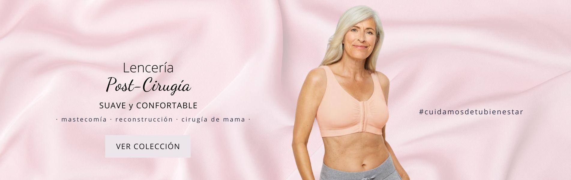 Lencería post-cirugía de mama